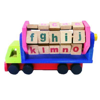 Mainan Edukasi Anak Truk Huruf Abjad