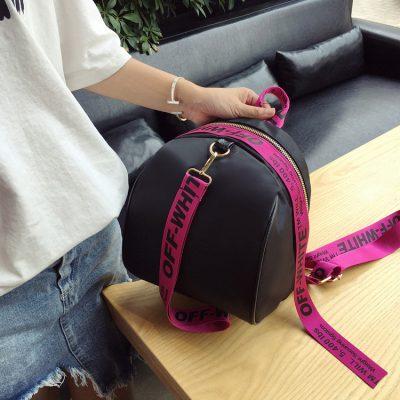 Backpack Strap OFF WHITE Terbaru Model T1220