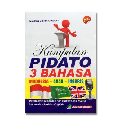 Buku Kumpulan Pidato 3 Bahasa Indonesia Arab Inggris