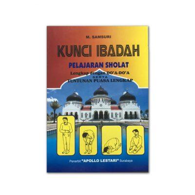 Buku Kunci Ibadah Pelajaran Sholat Puasa Beserta Doa