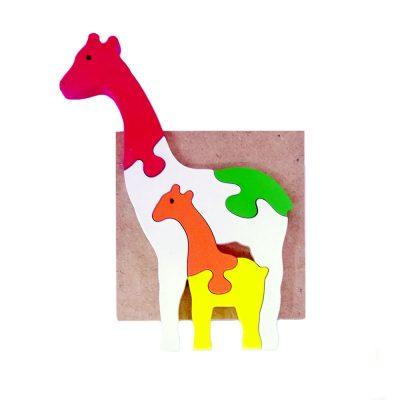 Mainan Edukasi Anak Puzzle Jerapah 3D