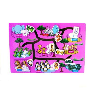 Mainan Edukasi Maze Binatang