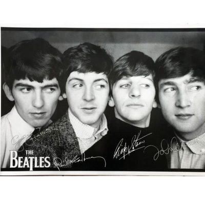 Poster The Beatles Ukuran Besar