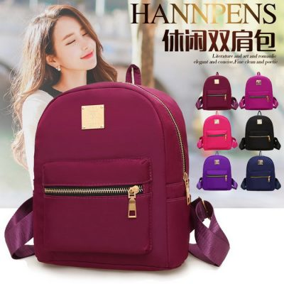Ransel Kanvas Model Casual Model T1219