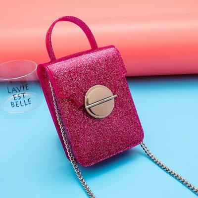 Tas Jelly Mini Sling Glitter Model T1210