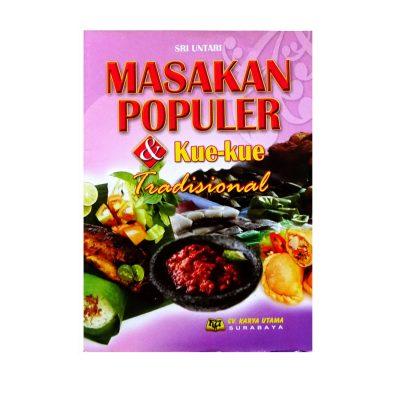 Buku Masakan Populer Dan Kue Tradisional