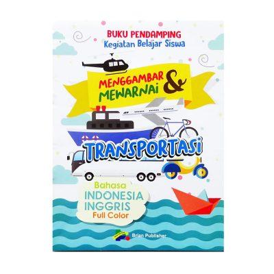 Buku Pendamping Anak Menggambar Transportasi