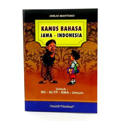 Kamus Bahasa Jawa Indonesia Pelajar dan Umum
