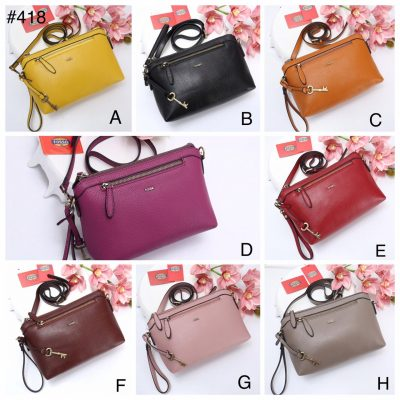 Pouch Bag Wanita Tali Panjang Model T1296