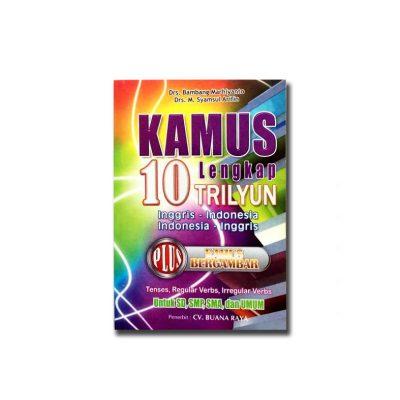 Buku Kamus Lengkap 10 Triliyun