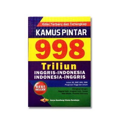 Buku Kamus Pintar 998 Triliyun