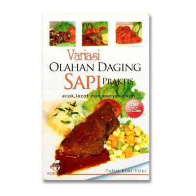 Buku Resep Variasi Olahan Daging Sapi