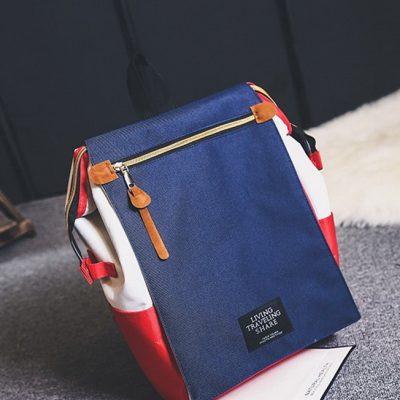 Tas Backpack Import Tiga Warna Model T1388
