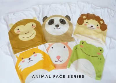 Kaos Anak Bayi Animal Face Series