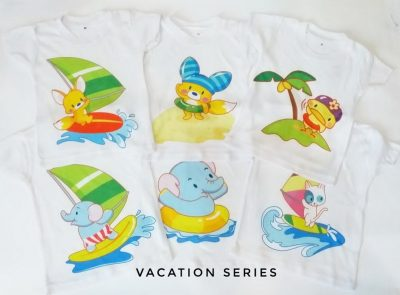 Kaos Baby Vacation Series