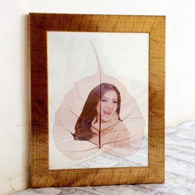 Souvenir Daun Gambar Artis Syahrini