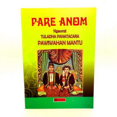Buku Pare Anom Pawiwahan Mantu