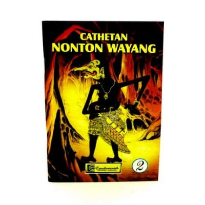Buku Saku Catatan Nonton Wayang