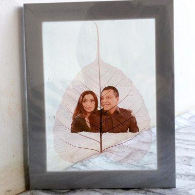 Souvenir Daun Gambar Anang Ashanty