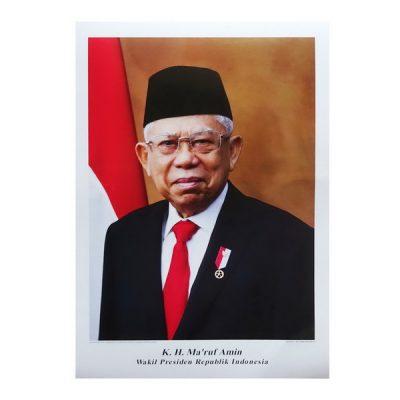 Grosir Poster Besar Wakil Presiden K.H. Ma'ruf Amin